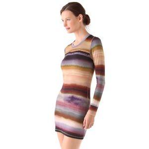 Young Fabulous & Broke striped mini dress medium